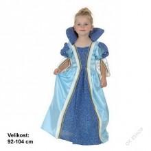 Dětský karnevalový kostým PRINCEZNA VEČERNICE 92 - 104cm ( 3 - 4 roky )
